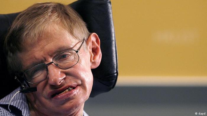 Großbritannien Wissenschaft Physiker und Astrophysiker Stephen Hawking (dapd)