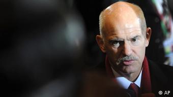 Georgios Papandreou, griechischer Ex-Regierungschef und SI-Präsident (Foto: AP)