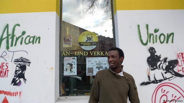 Saidu Bah of African Union in Berlin