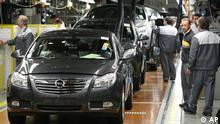 Deutschland Wirtschaft Autoindustrie Beschäftigung
