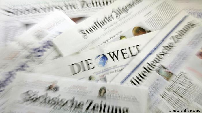 Deutschland Symbolbild deutsche Presseschau Presse (picture-alliance/dpa)