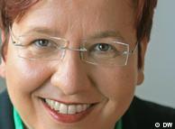 Ute Schaeffer, co-redactora en jefe de Deutsche Welle.