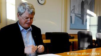 Grünen-Politiker Wolfgang Wieland (Foto: dpa)