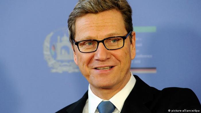 Bundesaussenminister Guido WESTERWELLE, FDP, Portraet, Portrait, Begruessung der Delegationen, World Conference Center Bonn, 4. Internationale Afghanistan-Konferenz in Bonn, 05.12.2011,