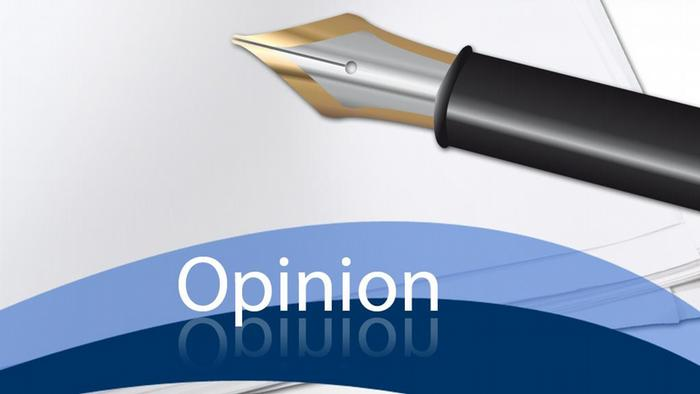 Logo for opinion pieces