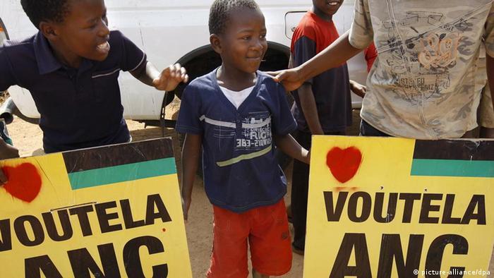 ANC-Wähler in Pretoria (Foto: EPA)