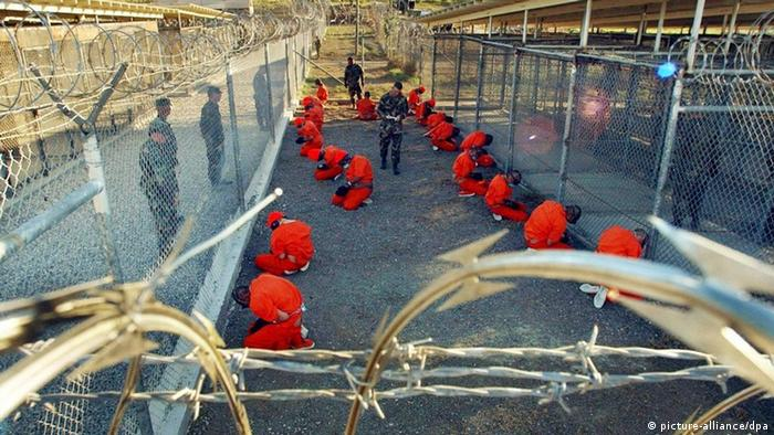 Orange suited Guantanamo inmates