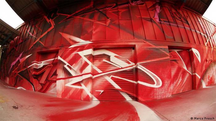 A graffiti by artist Claudia Walde