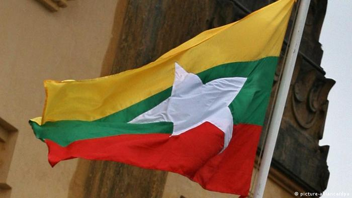 Flagge Myanmars (Foto : picture-alliance/dpa