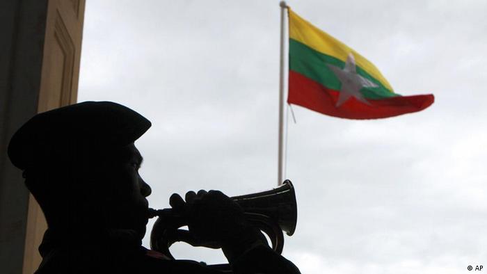 Myanmar Wahlen 2010 Flagge
