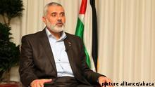 اسماعیل هنیه، رهبر حماس در نوار غزه در سفر خود به ترکیه در اوایل ژانویه ۲۰۱۲