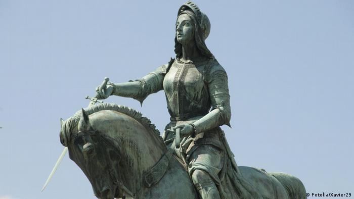 Estátua de Joana D'Arc