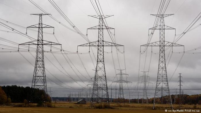 Stromleitungen Überlandleitungen