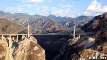 Baluarte höchste Brücke der Welt in Mexiko