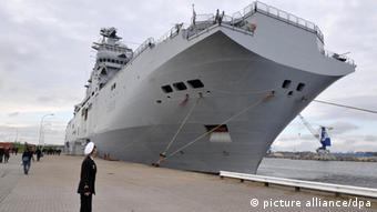 Warship. (Photo: dpa - Bildfunk)