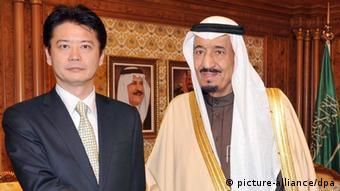 کوچیرو گمبا، وزیر امورخارجه ژاپن در عربستان سعودی