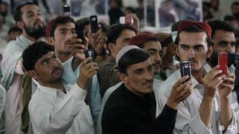 Handy-Nutzung in Afghanistan