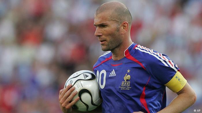 Зинедин Зидан считается одним из величайших игроков в истории футбола.