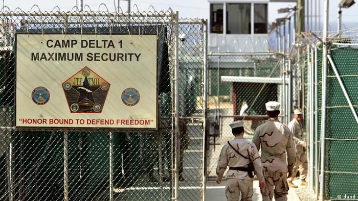 Kuba USA Gefängnis in Guantanamo Camp Delta