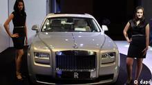 Rolls - Royce Ghost Extended Wheelbase