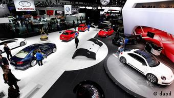 USA Automesse Detroit Motor Show 2012 Volkswagen