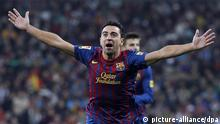 FC Barcelona Xavi Hernandez Fußballspieler