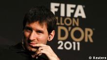 Fußballer des Jahres 2011 Lionel Messi