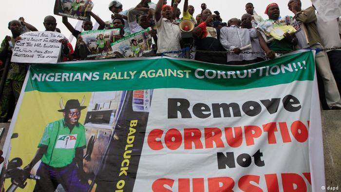 Massenproteste in Nigeria