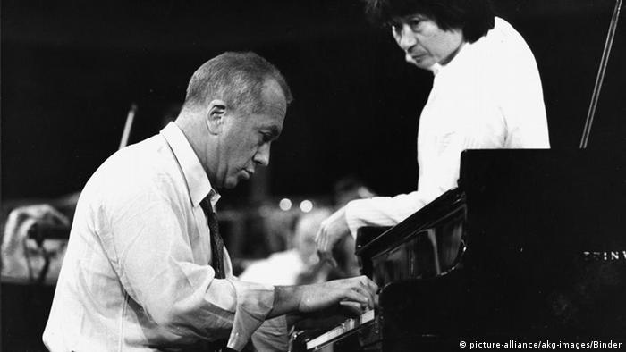 Pianist Alexis Weissenberg