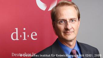 Prof. Dr. Dirk Messner, Direktor des Deutschen Instituts für Entwicklungspolitik (DIE)