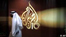 Katar Al Dschasira Logo Fernsehen