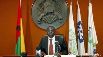 Raimundo Pereira, Presidente interino da Guiné-Bissau, pediu ajuda à CEDEAO