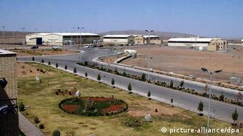 Instalaciones de enriquecimiento de uranio en Irán.