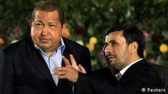 Nicaragua Venezuela Iran Präsident Mahmud Ahmadinedschad und Hugo Chavez in Managua