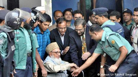 Ghulam Azam sent to jail