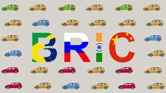 Symbolbild BRIC Schwellenländer Automobilindustrie Automarkt