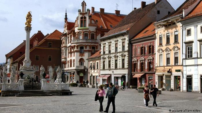 Kulturhauptstadt 2012 Maribor Slowenien (picture-alliance/dpa)