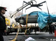 ترور مصطفی احمدیروشن، کارشناس اتمی ایران، از طریق انفجار یک بمب مغناطیسی