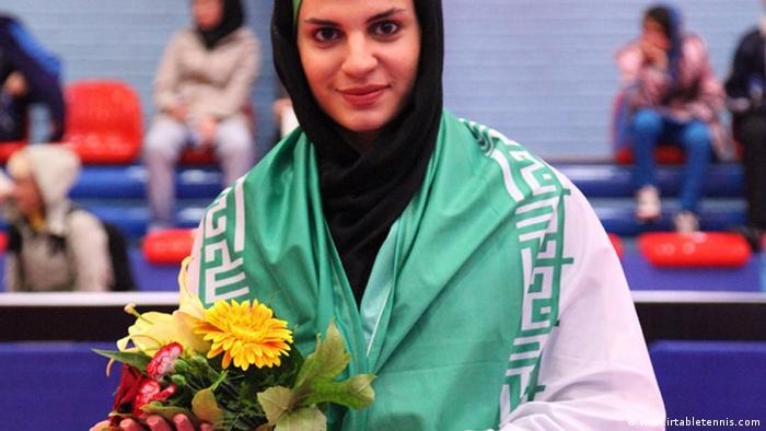 ندا شهسواری، ملی پوش المپیکی ایران
