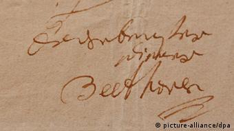 Почеркът на Бетовен