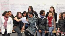 Students of the Master's Program International Media Studies at DW Akademie in Bonn (photo: DW Akademie).