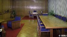 ***ACHTUNG: Das Bild nur zur Berichterstattung über die Eröffnung des Hauses 1 in der ehemaligen Stasi-Zentrale in Berlin verwenden!!!*** Bildtext: Das Arbeitszimmer von Stasi-Chef Erich Mielke (Quelle: BStU)