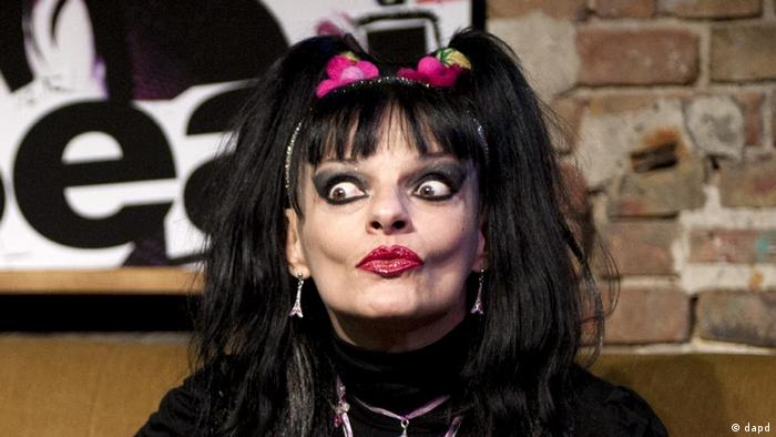 Punk icon Nina Hagen