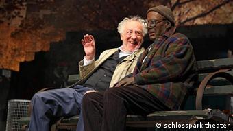 Dieter Hallervorden and Joachim Briese in 'I'm not Rappaport'