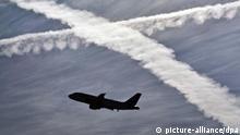 Flugzeug Kondensstreifen Verschmutzung Klimawandel Emissionshandel Luftverschmutzungsrechte EU Luftverkehr 2012