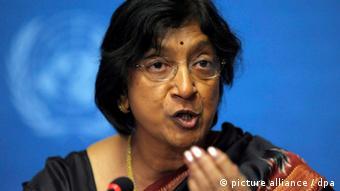 UN Commissioner for Human Rights, Navi Pillay