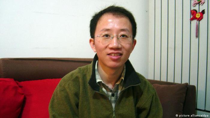 Chinesischer Bürgerrechtler Hu Jia freigelassen (picture alliance/dpa)