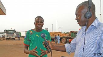 Kamerun LKW Fahrer Aboubakar Dulde