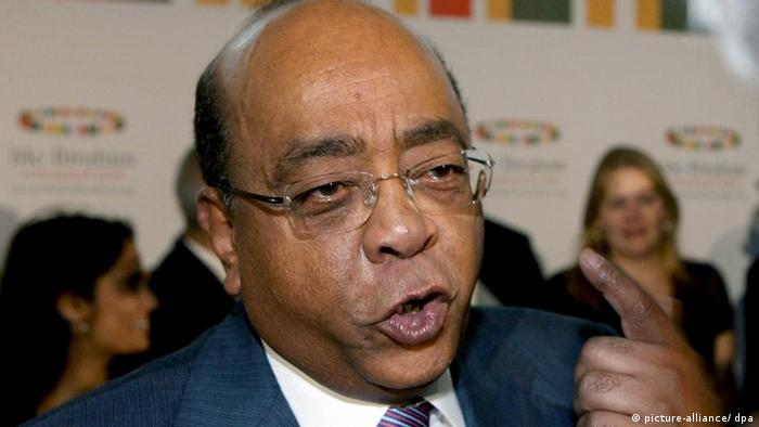 Mo Ibrahim, the founder of the Mo Ibrahim Foundation (Photo: Johnny Green/dpa)