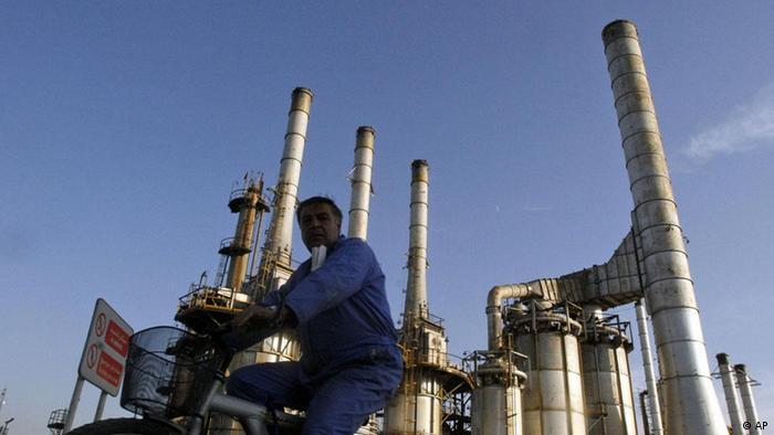 Iran Erdöl Öl Industrie Raffinerie Arbeiter